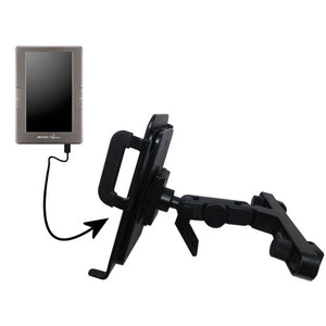 Innovative Headrest Vehicle Mount to Support Archos 70c eReader Tablet by Gomadic