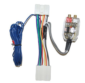 Factory Radio Add A Amp Amplifier Sub Interface Wire Harness Inline Converter Compatible with Dodge Compatible with Eagle and Compatible with Mitsubishi