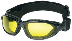 Liberty ProVizGard Challenger Sporty Goggle with Removable Headband, Amber Lens, Black Strap (Case of 6 Pairs)