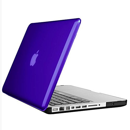 Speck Products SmartShell Case for MacBook Pro 13-Inch, Ultraviolet Purple/Black Satin - Not for Retina Macbook, Not for 2016 W/ and w/o Touch Bar Macbooks