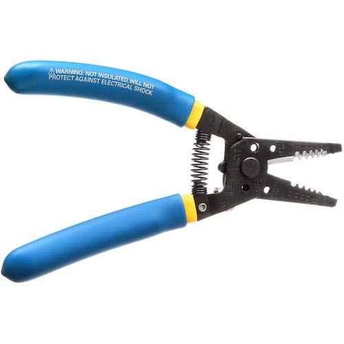 Klein Tools 11055 Wire Cutter and Wire Stripper, Stranded Wire Cutter, Solid Wire Cutter, Cuts Copper Wire