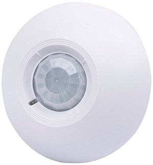 SPT Security Systems 15-951 360 Fov Ceiling Mount Pir (Passive Infrared) Motion Sensor, White