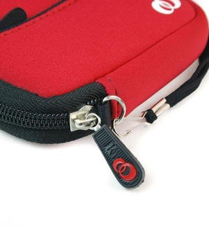 Kroo EVA Neoprene Quality Red Mini Sleeve Case Bag for Kodak PlaySport HD Camcorder ..... Best Seller on Amazon!