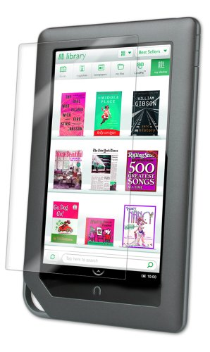 IQ Shield Screen Protector Compatible with Barnes & Noble Nook Color (7 inch) LiquidSkin Anti-Bubble Clear Film