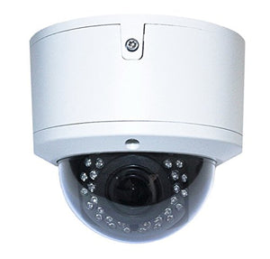 Aposonic 1080P 2MP TVI/CVI/AHD/Analog 4-in-1 Varifocal 2.8~12mm CCTV Surveillance Vandal-Proof IR Dome Camera