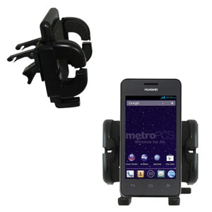 Gomadic Air Vent Clip Based Cradle Holder Car/Auto Mount Suitable for The Huawei Valiant