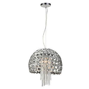 PLC Lighting 70078 AL 1-Light Pendant La Maison Collection