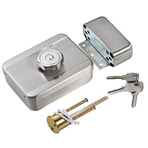 UHPPOTE Safe Low Noise Intelligent Motor Electric Lock W/Signal Self-Closing Lockable
