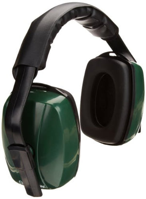 Gateway Safety 95134 SoundDecision 3-Position Di-Electric Earmuff, Green/Black