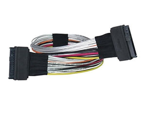 Micro SATA Cables U.2 SFF-8639 Female to U.2 SFF-8639 Female Cable