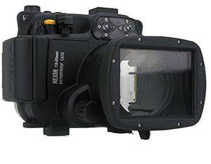 Polaroid SLR Dive Rated Waterproof Underwater Housing Case For The Sony NEX 5R Camera with a 18-55mm Lens