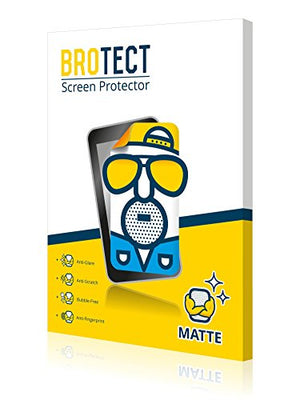 2X BROTECT Matte Screen Protector for Becker Professional 6 LMU, Matte, Anti-Glare, Anti-Scratch