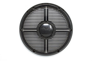 Wet Sounds REVO 10 XW-B Grill Black XW Closed Style Grill for The REVO 10 Inch Marine Subwoofer