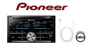 Sound of Tri-State FH-X830BHS CD Receiver w/Built in Bluetooth & Lightning to USB Adapter with Air Freshener Bundle