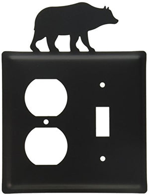 8 Inch Bear Single Outlet and Switch Cover