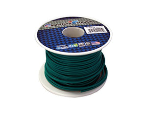 American Terminal ATPW18-100GR 18 Gauge Primary Wire, Green