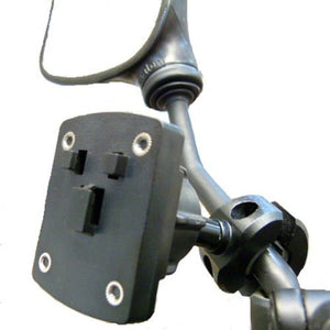 Ultimate Addons Motorcycle Mirror Mount - 3 Prong Attachment (sku 14952)