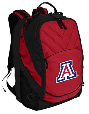 Broad Bay Arizona Wildcats Backpack Red University of Arizona Laptop Computer Bags