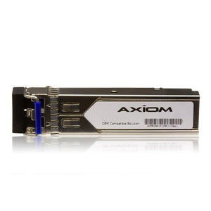 Axiom E1MG-LHA-OM-AX SFP (mini-GBIC) transceiver module - Gigabit Ethernet - 1000Base-ZX - LC single-mode - up to 43.5 miles - 1550 nm - for Brocade I