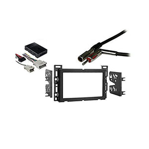 Chevy Equinox 2005-2006 Double DIN Dash Kit and Stereo Radio Harness