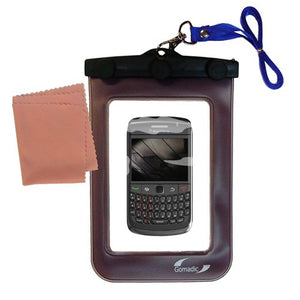 Gomadic Outdoor Waterproof Carrying case Suitable for The BlackBerry Apollo to use Underwater - Keeps Device Clean and Dry