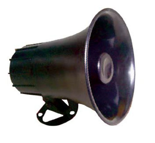 All Weather Mono Trumpet Horn Speaker   5� Portable Pa Speaker With 8 Ohms Impedance & 25 Watts Pe