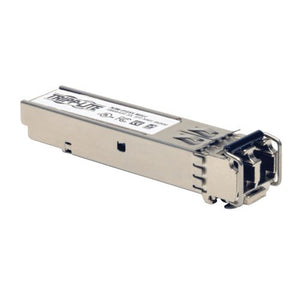 Tripp Lite SFP Transceiver MM Fiber 1000Base-SX, Cisco Compatible, GLC-SX-MMD, DDM, MMF, 850nm, 550M, LC (N286-01GSX-MDLC)