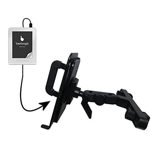 Unique Highly Adjustable Car/Auto Headrest Mount for The txtr GmbH txtr Reader by Gomadic