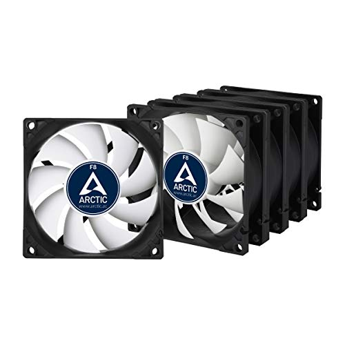 Arctic F8 Value Pack   80 Mm Standard Case Fan, Five Pack, Very Quiet Motor, Computer, Push  Or Pull