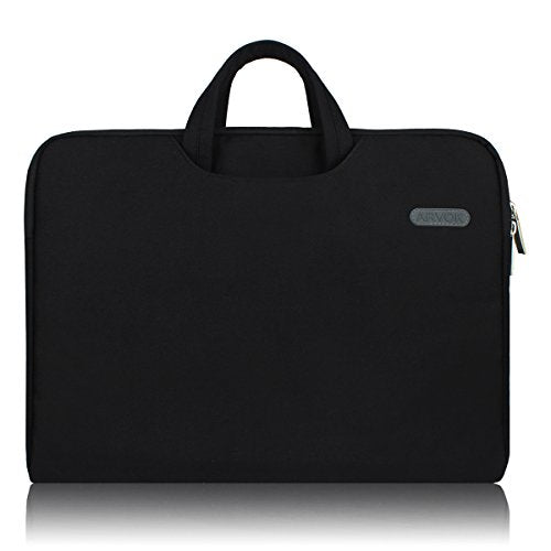 Arvok 15 15.6 Inch Multi Color & Size Water Resistant Laptop Sleeve Bag With Handle/Notebook Compute