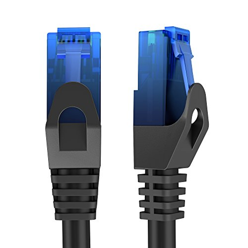 KabelDirekt - Ethernet, Network, Lan & Patch Cable 75 feet (transfers a maximum internet speed of 1GB & is compatible with Gigabit networks, Switches, Routers, Modems with RJ45 port, in blue)