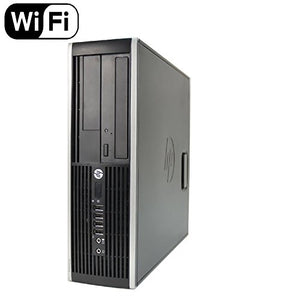 HP 8300 Elite Small Form Desktop Computer PC (Intel Core i5-3470, 3.2GHz, 16GB RAM, 240GB Brand New SSD, Windows 10 Pro 64-Bit) (Renewed)