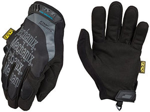 Winter Work Gloves For Men By Mechanix Wear: Original Insulated; Touchscreen Capable (Large, Black/G