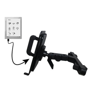 Unique Highly Adjustable Car/Auto Headrest Mount for The iRex Digital Reader 800 by Gomadic