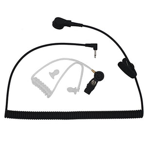 AOER 3.5mm Jack Universal Listen-Only Acoustic Tube Headset Earpiece for 2-Way Radio Transceivers and Radio Speaker Mic Microphone