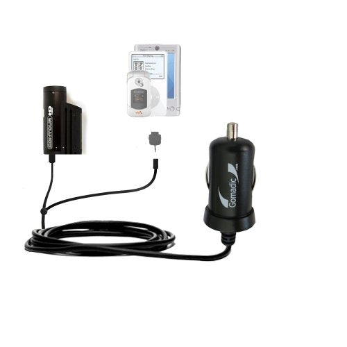 Coiled Power Hot Sync USB Cable Suitable for The Rand McNally TND Tablet with Both Data and Charge Features Uses Gomadic TipExchange Technology