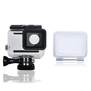 Waterproof Hd Dive Housing Case for Gopro Hero 5 Black, Action Camera (45M. Deep) + Touch Screen Backdoor