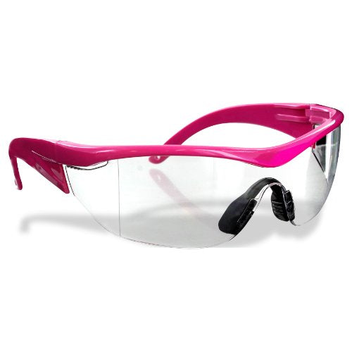 Safety Girl Navigator Safety Glasses   Pink Clear