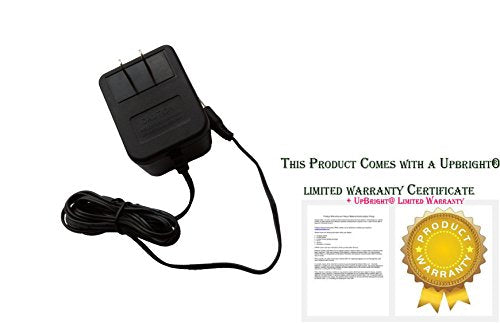 UpBright New AC Adapter For Model: MKA-4109500 9VAC 500mA ITE Power Supply Cord Cable Charger Mains PSU (Input: 110V - 117V - 120VAC 60Hz or 220V - 230V - 240VAC 50Hz Suitable Input Voltage For Your C