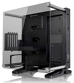 Thermaltake Core P1 Tempered Glass Edition Mini ITX Open Frame Panoramic Viewing Tt LCS Certified Gaming Computer Case CA-1H9-00T1WN-00