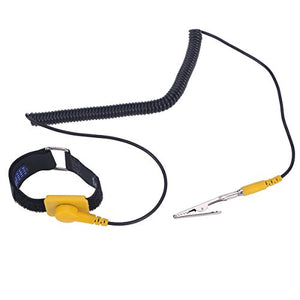 UEETEK Anti-Static Wrist Strap Adjustable Grounding Wrist Strap Band