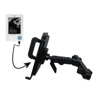 Unique Highly Adjustable Car/Auto Headrest Mount for The Kobo eReader by Gomadic