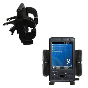 Socket SoMo 655 655RX 655DXS Compatible Vent Vehicle Mount Cradle - Unique Auto Car Holder Clips into Air Vents.