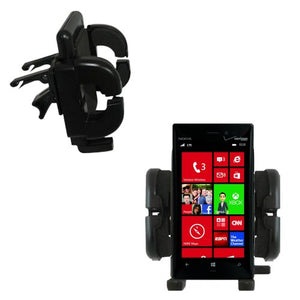 Gomadic Air Vent Clip Based Cradle Holder Car/Auto Mount Suitable for The Nokia Lumia 928