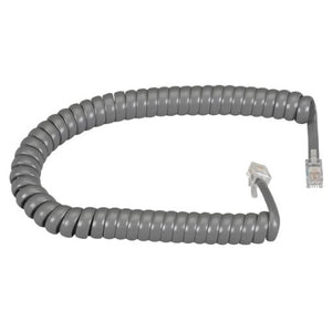 Black Box Network Services Handset Cord Dark Gray 25 Ft.