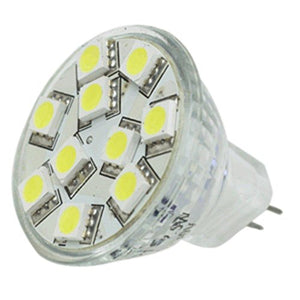Lunasea MR11 10 LED Light Bulb - Cool White consumer electronics Electronics
