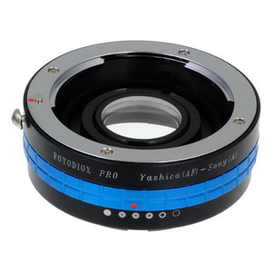 Fotodiox Pro Lens Mount Adapter, for Yashica AF Lens to Sony Alpha DSLR Cameras