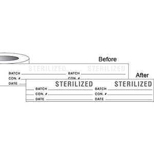 Sterilization Label Tape With Note Area