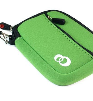 Kroo EVA Neoprene Quality Green Mini Sleeve Case Bag for Kodak PlayTough HD Camcorder ..... Best Seller on Amazon!