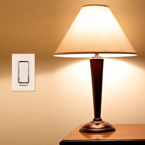 SK-8 Wireless DIY 3-Way On Off Anywhere Lighting Home Control Wall Switch Set - No neutral wire required